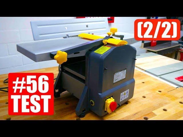 Vlog #56  Abricht- und Dickenhobelmaschine für 249€  im TEST (2/2)