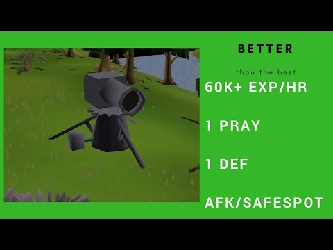 OSRS Best/Better Cannon Spot for 1Def 1Pray Low HP Pures 2017