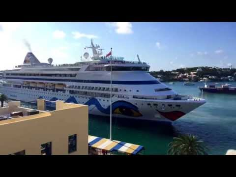 How to Berth Cruise Liner in Bermuda! - Hamilton Harbour