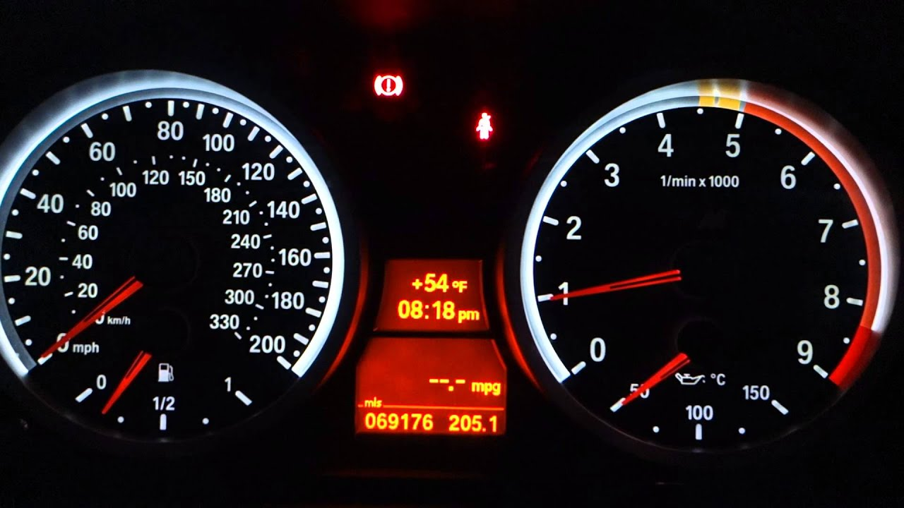 e90 m3 cluster on 335i  properly programmed and coded