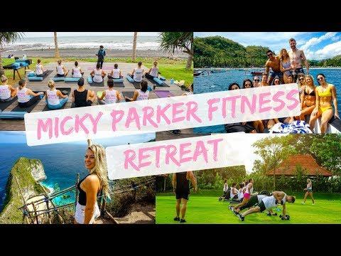 MICKY PARKER FITNESS RETREAT VLOG|| Bali June 2018