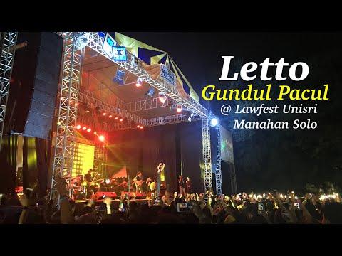 Letto - Gundul Gundul Pacul versi Metal dan Reggae @ Lawfest Unisri 2018 Manahan Solo