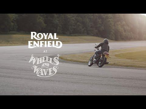 Royal Enfield at Wheels & Waves - Part 1