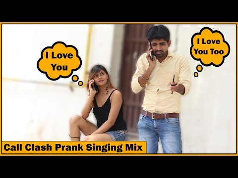 Epic Call Clash Prank on Girls – Singing Mix – Part #4 | The HunGama Films