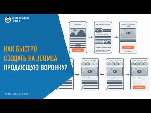 Как быстро создать продающую воронку на CMS Joomla?