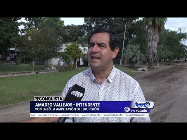AMADEO VALLEJOS - INTENDENTE