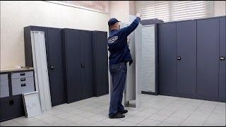 видео металлические шкафы для раздевалок