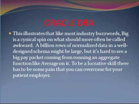 The Best Oracle DBA Certification Courses in India. - YouTube