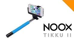 Selfie Stick - NOOX Tikku II bluetooth jalusta esittelyvideo
