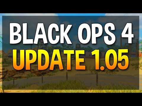 NEW COD BO4 1.05 UPDATE PATCH NOTES !! | SMG BUFFS ! | BLACKJACK SHOP ! | NUKETOWN UPDATE !!