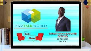 BizzTalk World Talk Show Jonathan Muyumb Ditend, Co-Founder at The Box