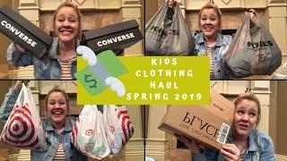HUGE Kids Clothing Haul for Spring 2019!
