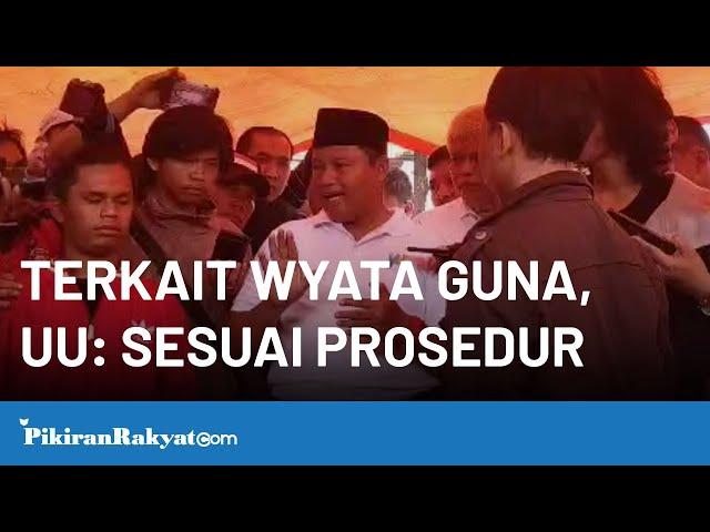 Setelah Ridwan Kamil ke Wyata Guna, Wagub Jabar Uu : Pemerintah Sudah Berikan Tenggang Waktu