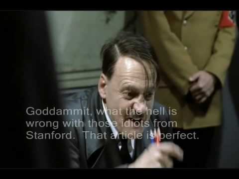 Hitler gets rejected by Stanford Law Review