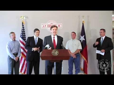 Gov. Perry: Small Businesses Help Texas Economy Shine - Part 2