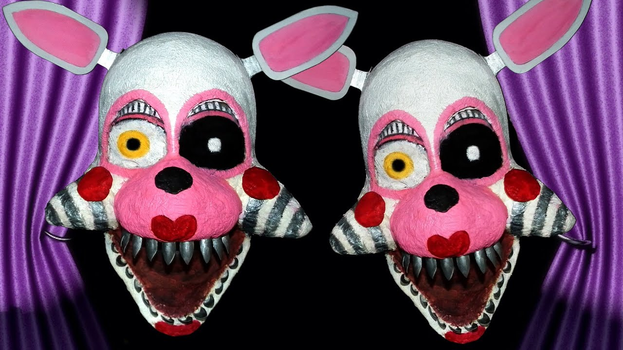 Foxy 2 0 the mangle five nights at freddy s 2 makeup tutorial