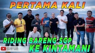 PANAS TERIK SGP RIDING KE KINTAMANI !! JUDIKA, DARIUS, HAMKA HADIR, BILLY, VICKY TUKANG GOCEK !!