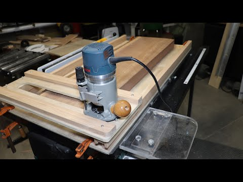 Making A Router Sled And Flattening Small Slabs For My Next Project
