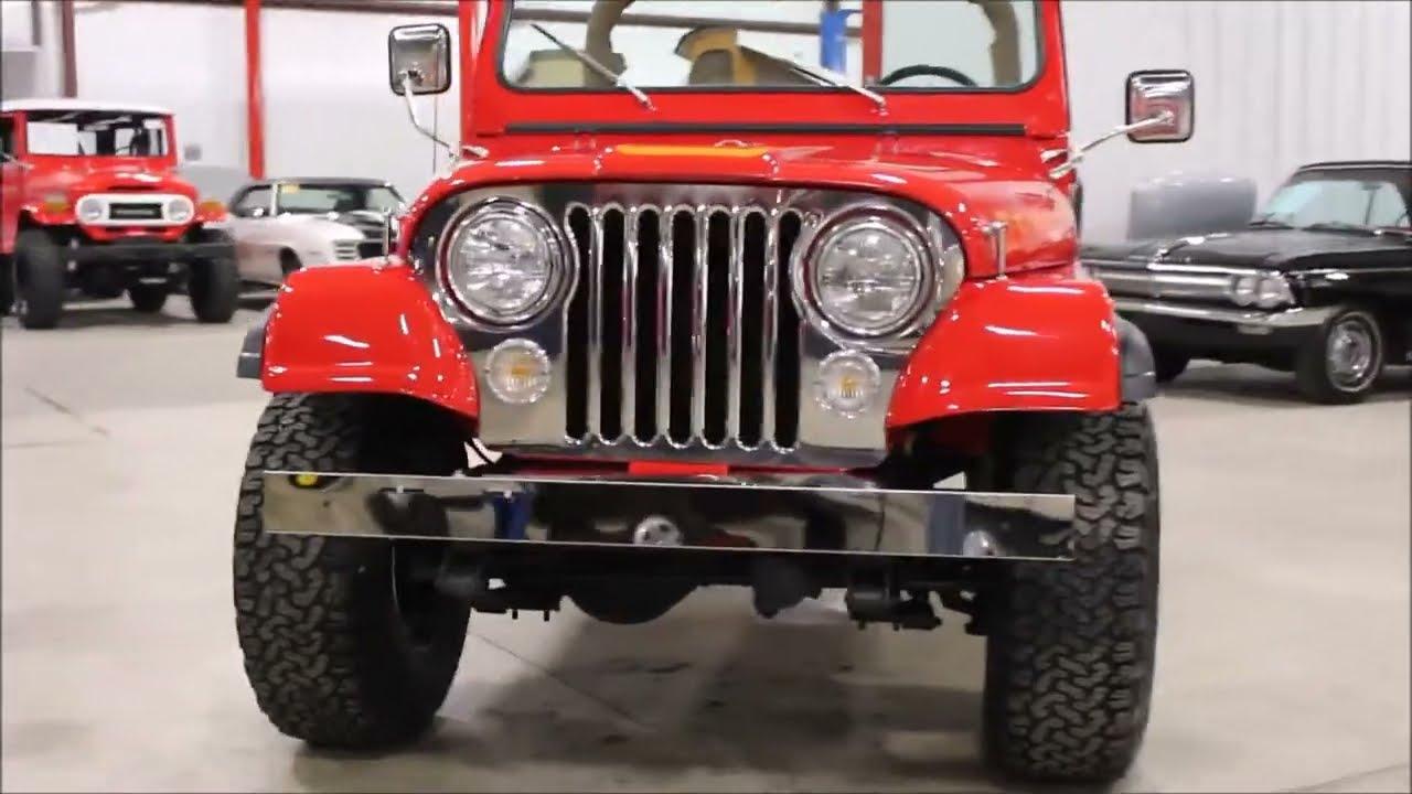 1977 Jeep CJ 7 Renegade - YouTube