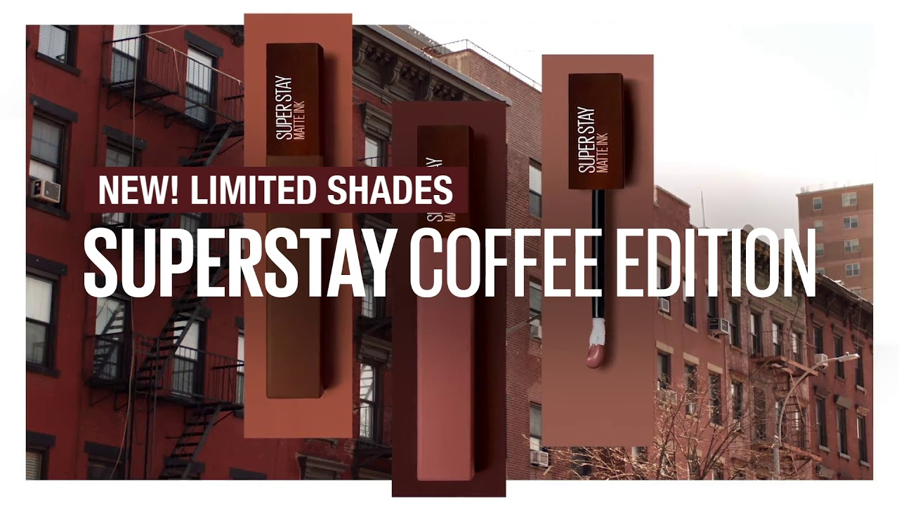 #CoffeeOnYourLips: Maybelline Superstay Coffee Limited Edition