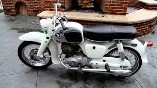 "1964 Honda CA95 (Benly or ""Baby Dream"")"