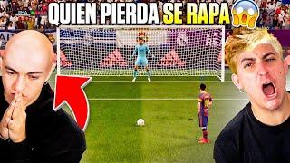 QUIEN PIERDA SE RAPA ¡Penaltis de la Mu3rt3!