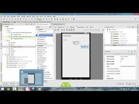 Android Studio Tutorial in Hindi #7 (Exploring Layouts)