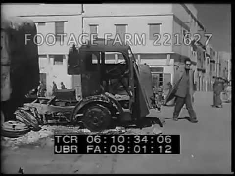 Algeria - French Army Searching Office & Streets 221627-30 | Footage Farm