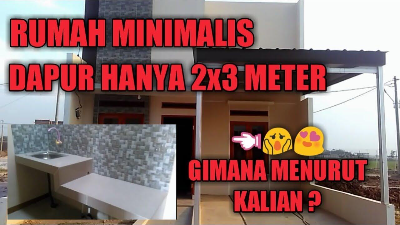 RENOVASI RUMAH KECIL TYPE 30/60 | DAPUR HANYA 2x3 METER ...