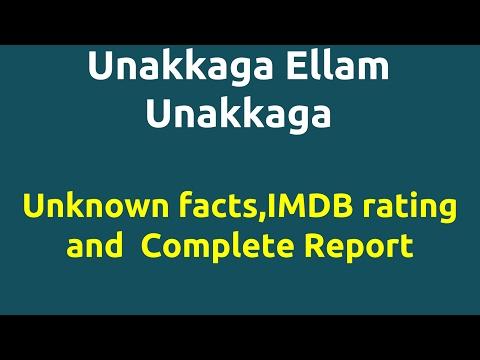 Unakkaga Ellam Unakkaga |1999 movie |IMDB Rating |Review | Complete report | Story | Cast