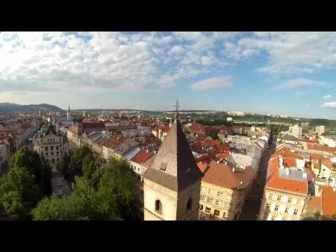 Guided view of downtown Kosice, Slovakia