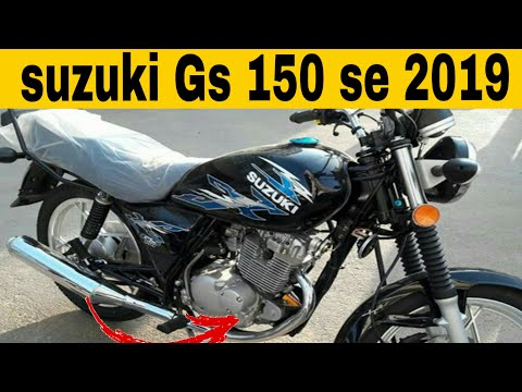 Suzuki GS 150se review and top speed 2019 - YouTube