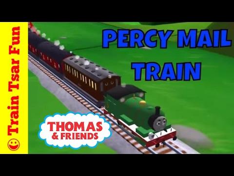 Percy Mail Train - Thomas & Friends Magical Tracks Kids Train Set