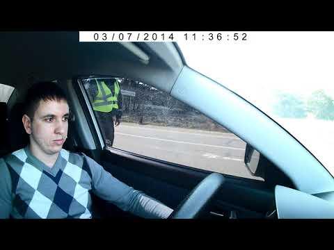 Остановка за скорость .Полиция Цюрупинска