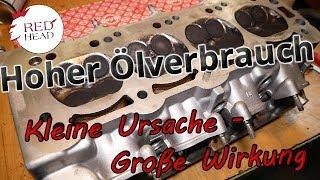 Hoher Ölverbrauch Opel Motor C20XE GSI Killer