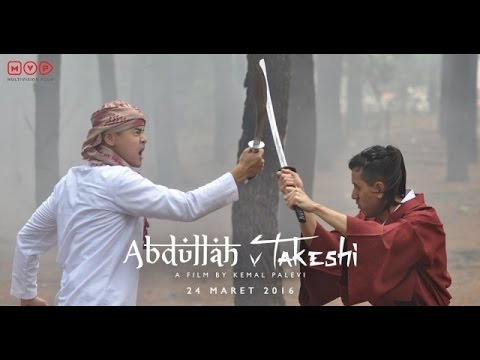 Abdullah & Takeshi (2016) Official Trailer #1 Film Indonesia