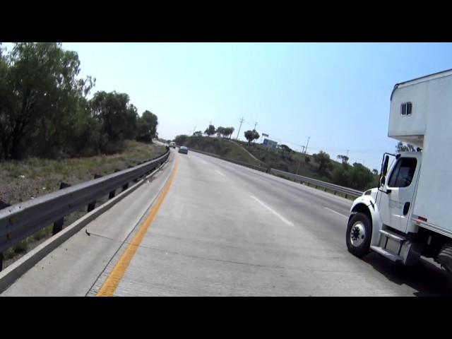 Incidentes en el Camino 209. Trailers en la México - Querétaro