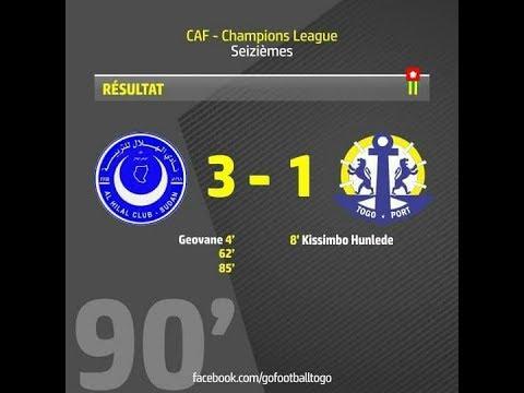 Résumé Match retour Al Hilal VS As Togo Port 18/03/18