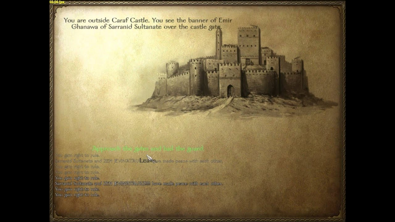Mount blade: how to become king