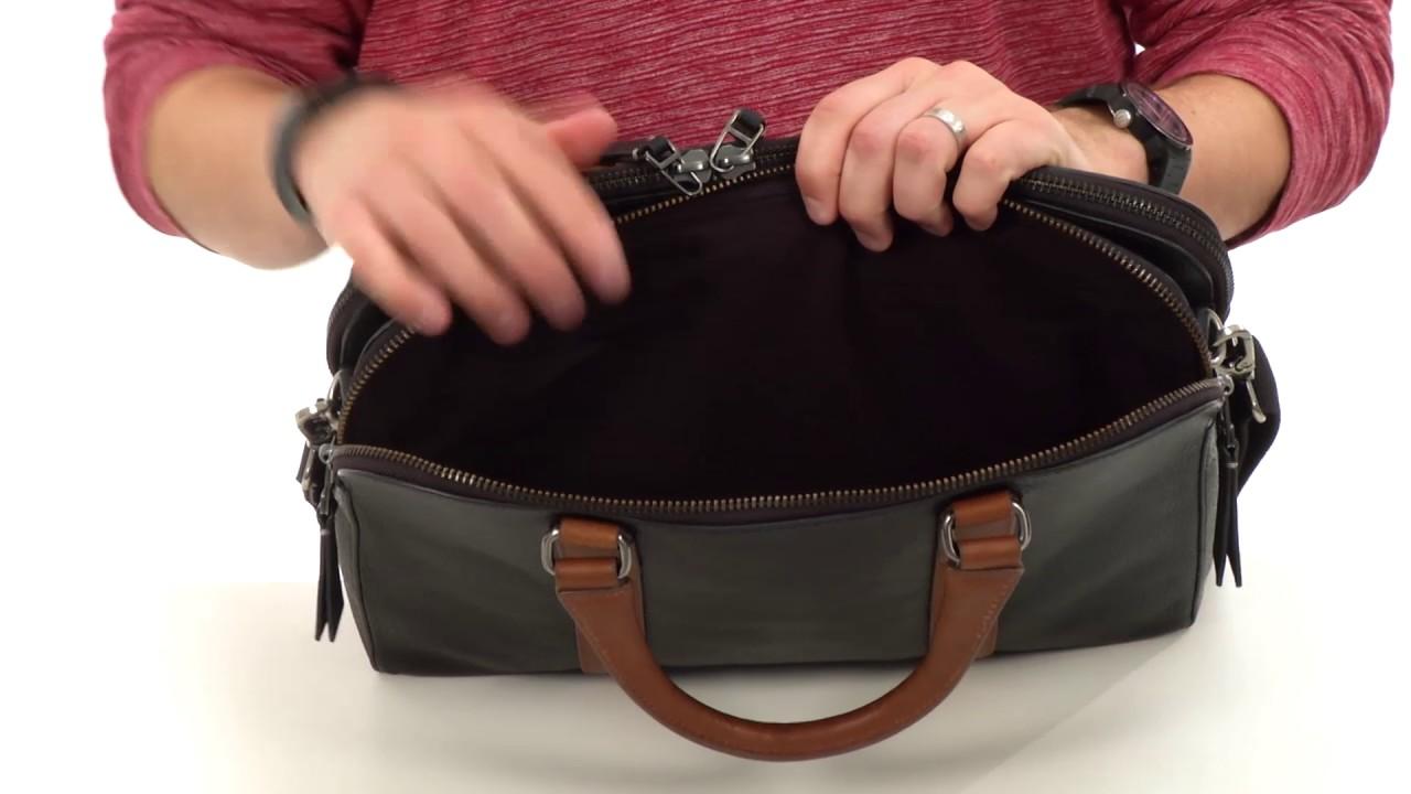 8e3e909de5 Fossil Mayfair Double Zip Workbag SKU 8770594 - YouTube