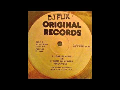 Pineapples  Come On Closer Original Records Version 1988