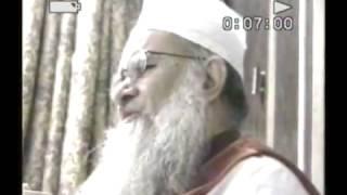 Hazoor Sheikh ul islam Syed Madni Miya On Dr Tahir ul Qadri