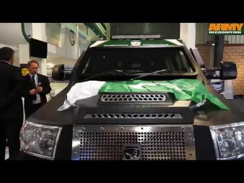 FALCON UQAAB multi-purpose armored vehicle PAK Armoring IDEAS 2014