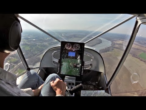 Flying home in the STOL CH 750 Super Duty: Following the Missouri River