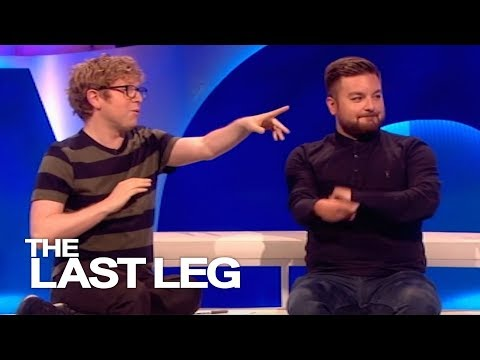 Josh Has Started Clapping Like Alex - The Last Leg