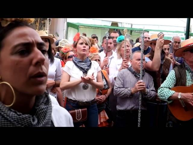 Presentacion al Sin Pecao 2016 Hermandad del Rocio de Terrassa