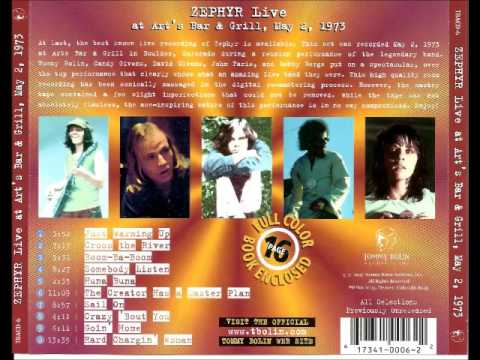 Zephyr – Live At Art's Bar And Grill May 2, 1973