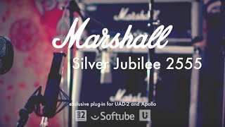 Classic Amps: Marshall Silver Jubilee 2555 plug-in by Softube