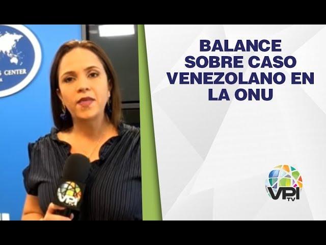 EEUU - Ayuda humanitaria y nuevas sanciones: balance sobre caso venezolano en la ONU - VPItv