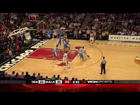 Tyrus Thomas highlight reel against the Nuggets 2007-2008